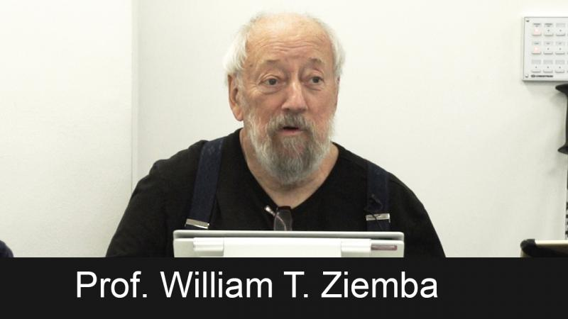 Prof. William T. Ziemba